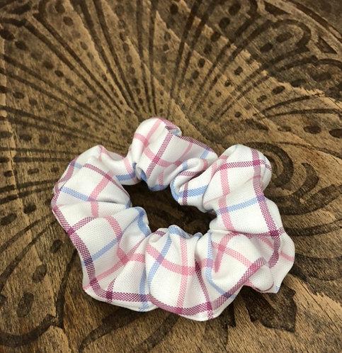 The Fryerning Scrunchie - Pink Check