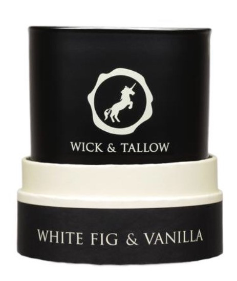Wick & Tallow candle