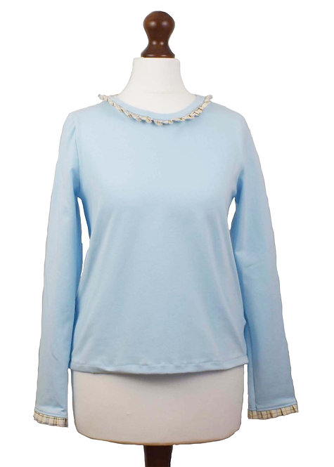 The Copford Top - Blue