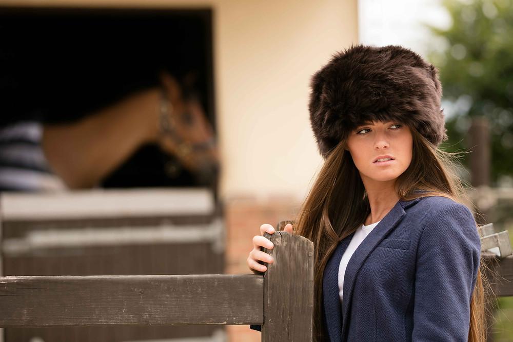 Kelmarsh hat in brown