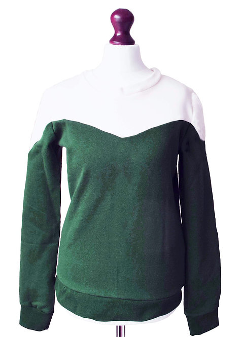 Size 6 - The Canfield Sweatshirt - Green