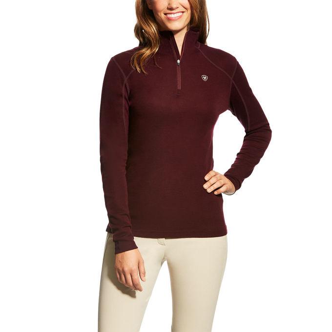 Ariat Cadence 1/4 zip wool jumper