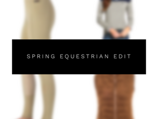 The spring equestrian edit