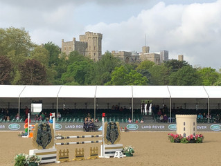 From Spitfire wings to jump wings - 75 years of the Royal Windsor Horse Show