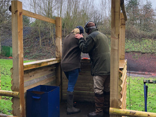 A day with the clays