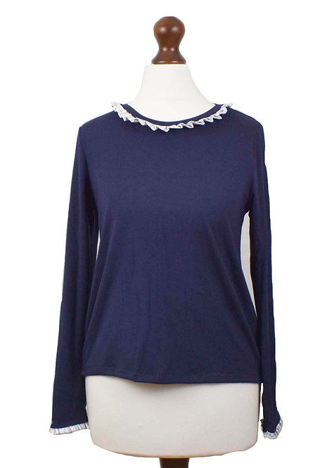 The Copford Top - Navy