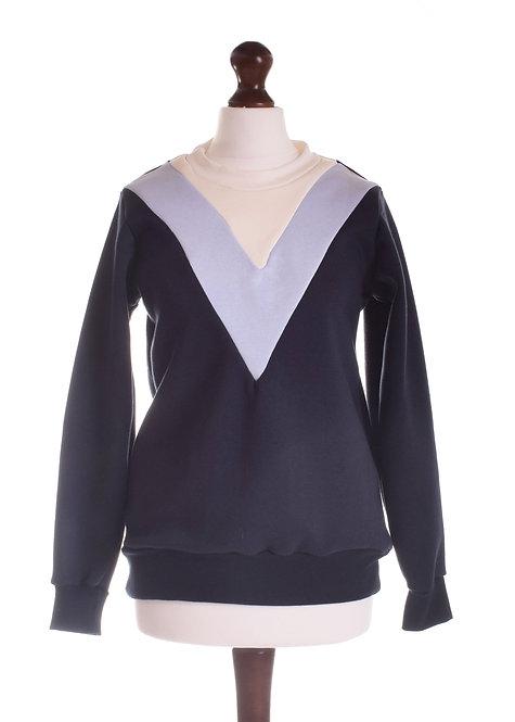 Size 6 -The Barling Sweatshirt - Navy