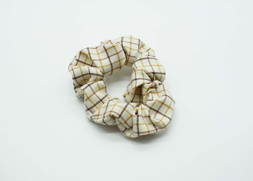 The Fryerning Scrunchie - Gold Check