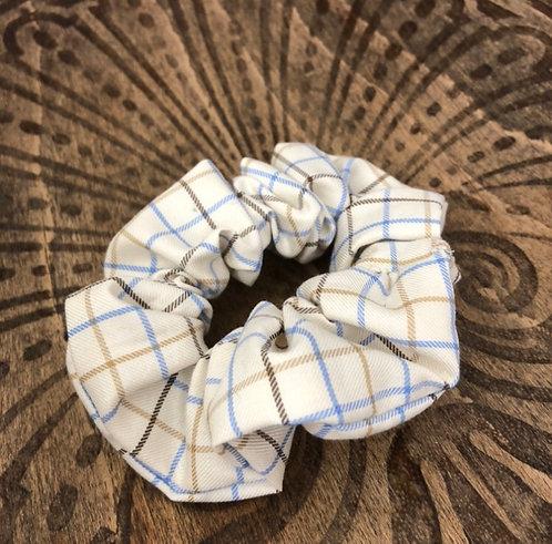 The Fryerning Scrunchie - Tan Check