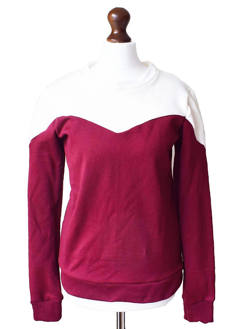 The Canfield Sweatshirt - Burgundy