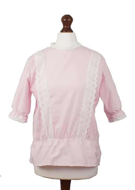 The Langford Blouse - Pink