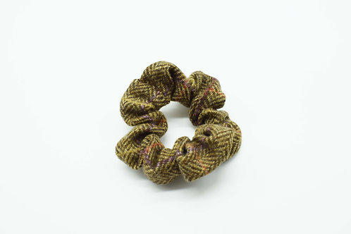 The Rivenhall Scrunchie - Brown Check