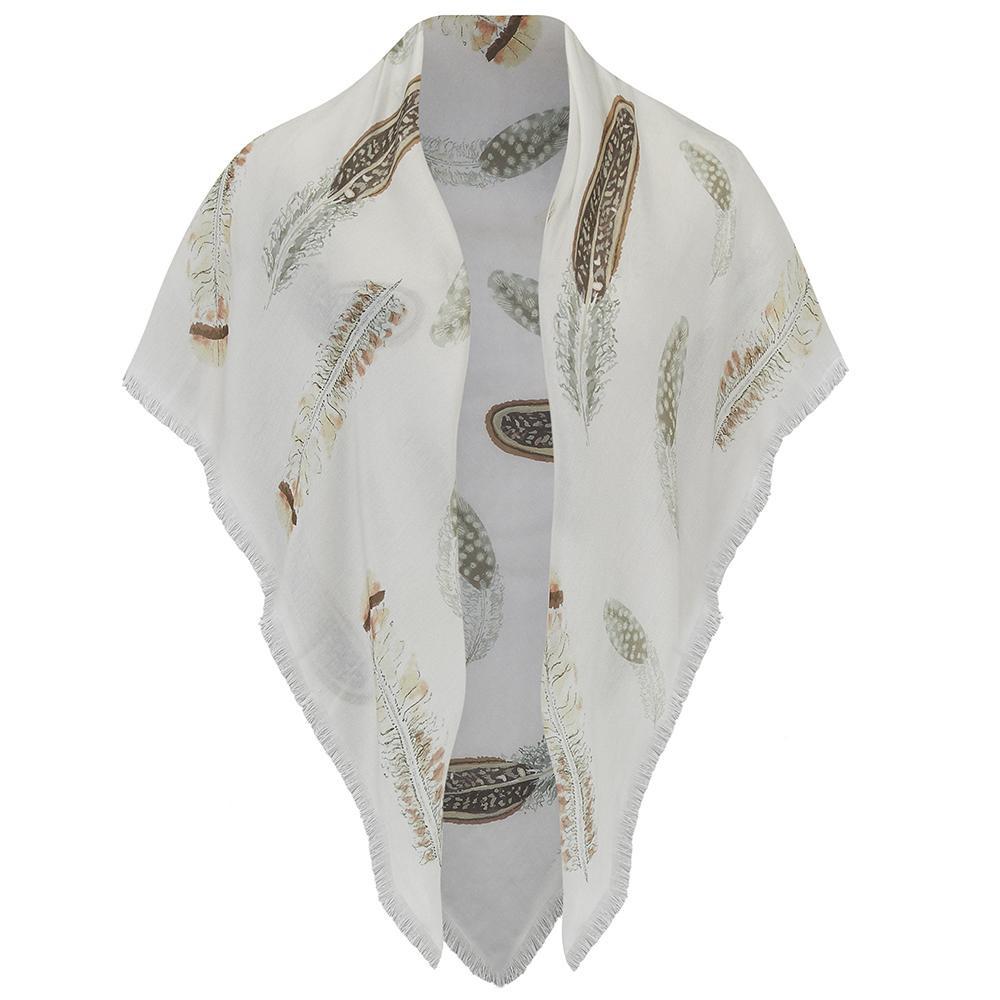 Pluma shawl