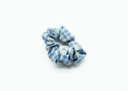 The Fryerning Scrunchie - Blue Check