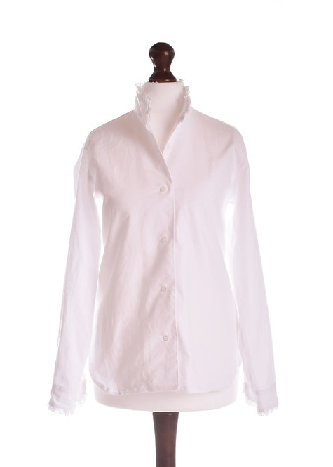 The Audley Shirt - White