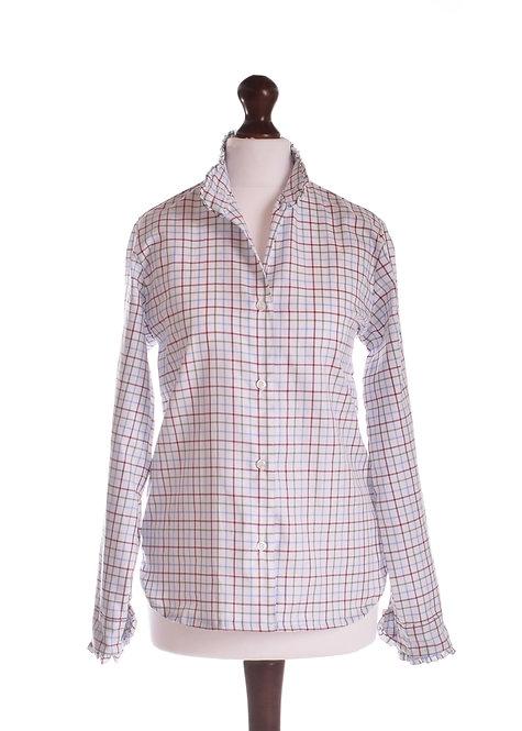 The Elmdon Shirt - Burgundy