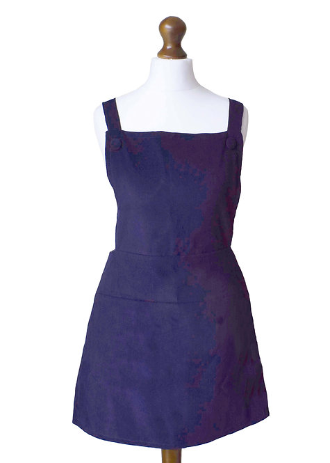 The Eastthorpe Dress - Navy Cord