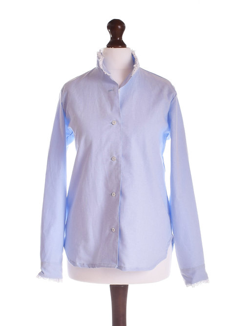The Audley Shirt - Blue