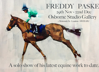 Cantering off the canvas - the wild world of Freddy Paske