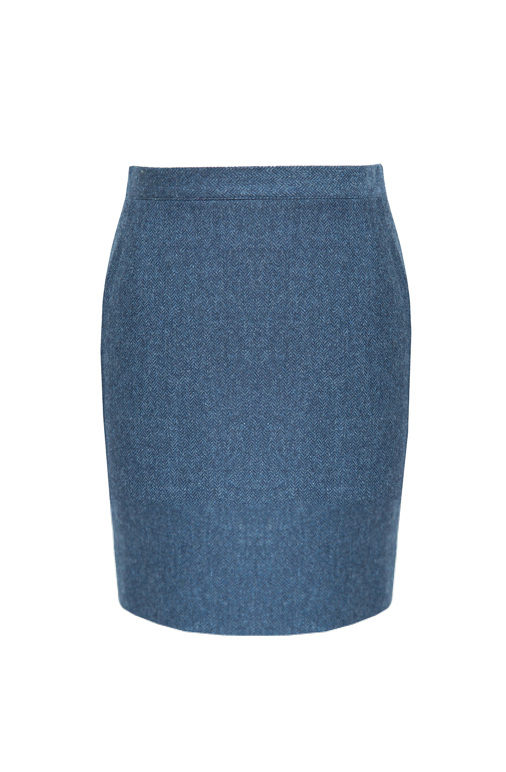Clara short skirt in dark sapphire