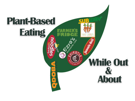 Plant-Based Eating While Out & About