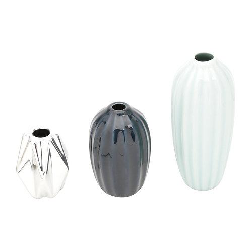 Trio Porcelana Marinho Mini