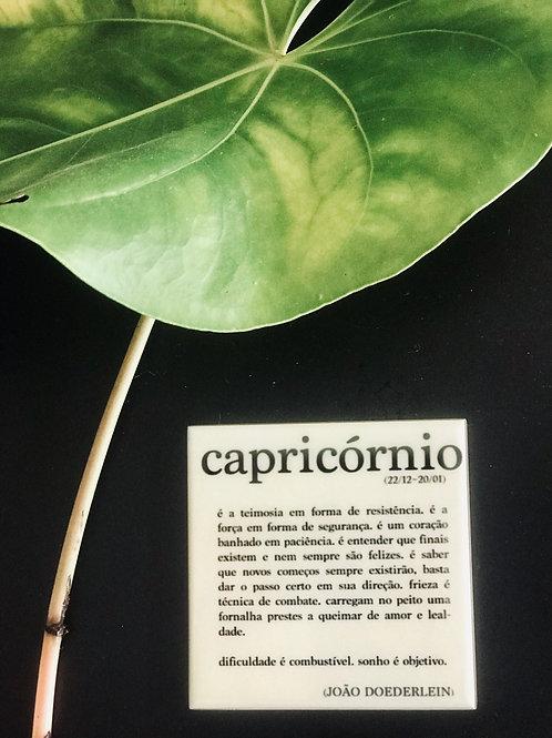 Mini Azulejo Signo Capricórnio