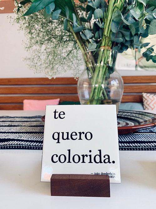 Azulejo • COLORIDA