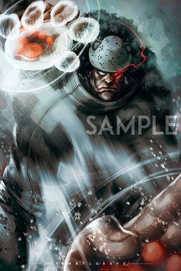 POSTER | Bartolomeo Kuma | 7 Warlord