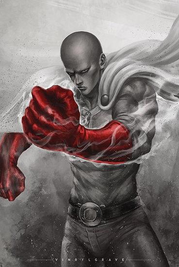 POSTER | Saitama | One Punch Man
