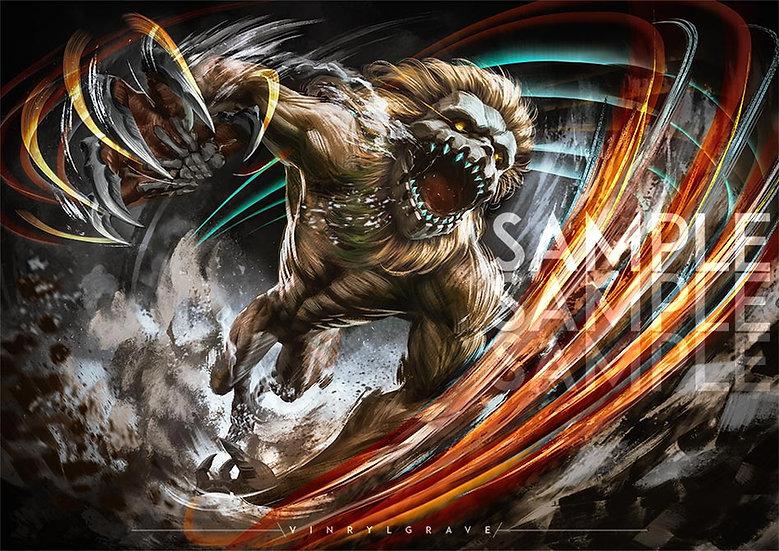 A3 POSTER | Jaw Titan