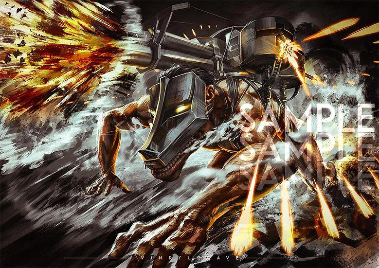 A3 POSTER   Cart Titan