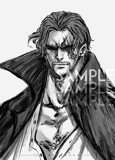 A3 POSTER   Shanks - inkportrait