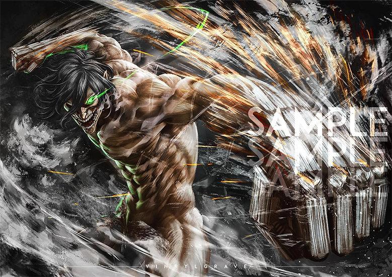 A3 POSTER | Attack Titan