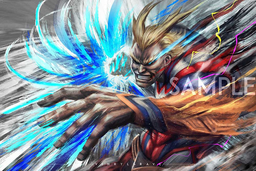 POSTER | All Might | UNITED STATES OF SMASH