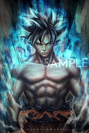 POSTER | Ultra instinct | Dragon Ball Super