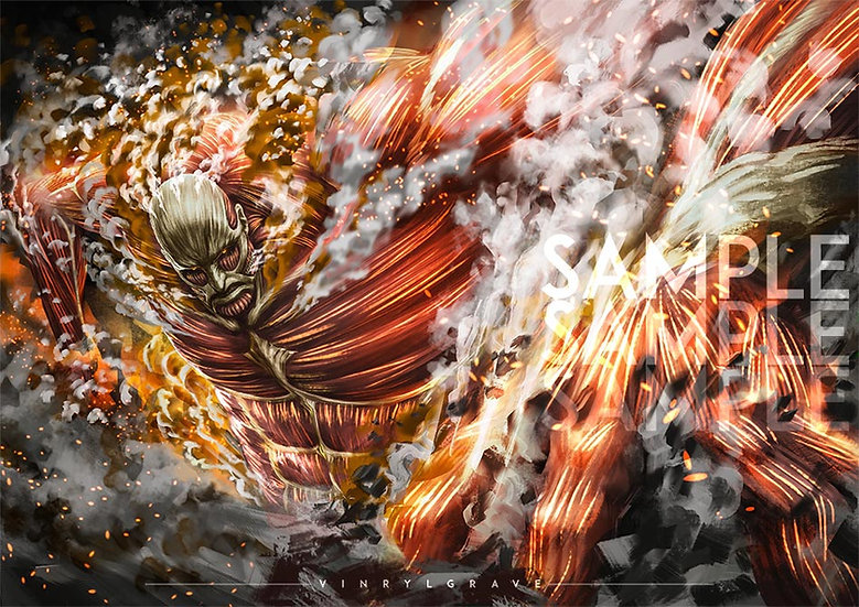 A3 POSTER   Colossal Titan