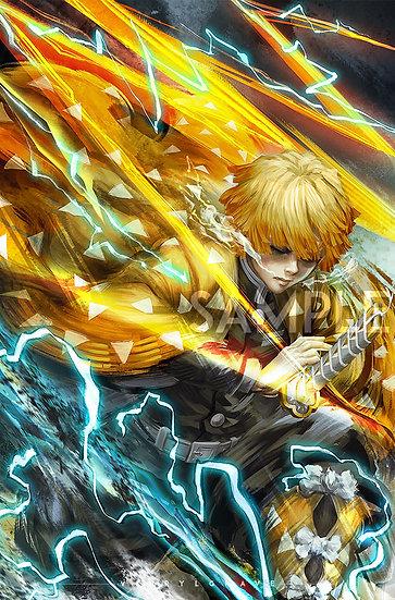 POSTER | ZENITSU | Thunderclap n Flash