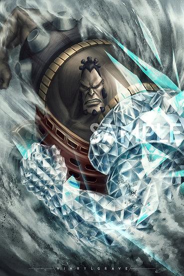 POSTER | Diamond Jozu | Whitebeard 3rd Commander
