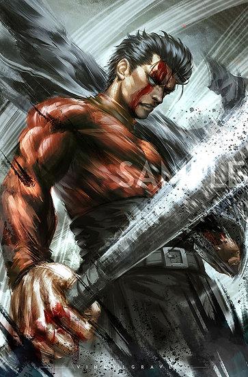 POSTER | METAL BAT | One Punch Man