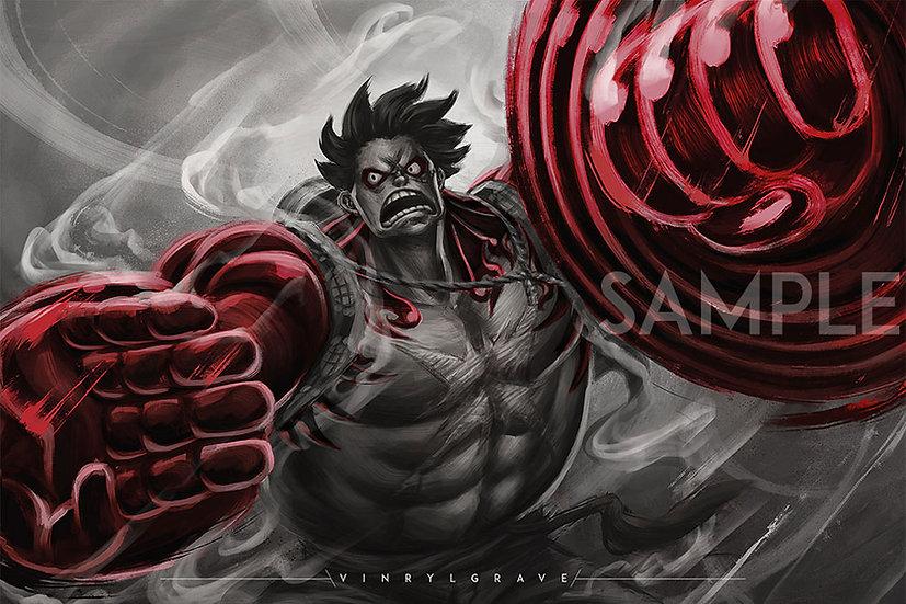 Luffy | GEAR 4th BOUND MAN |