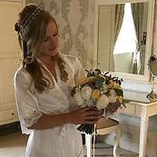 Beautiful bride 👰🏼 #chrisandhayleywedd