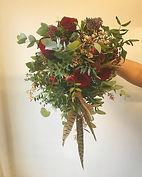 Winter Wedding 🦌🌹❄️ #bridesbouquet #ma