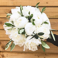 Beautiful brides peony bouquet #bridesbo