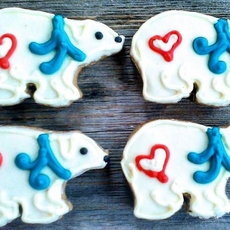 Polar Bear with Heart