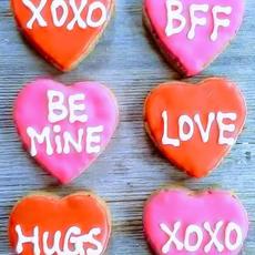 "Valentine's Day Message Hearts (2.5"")"