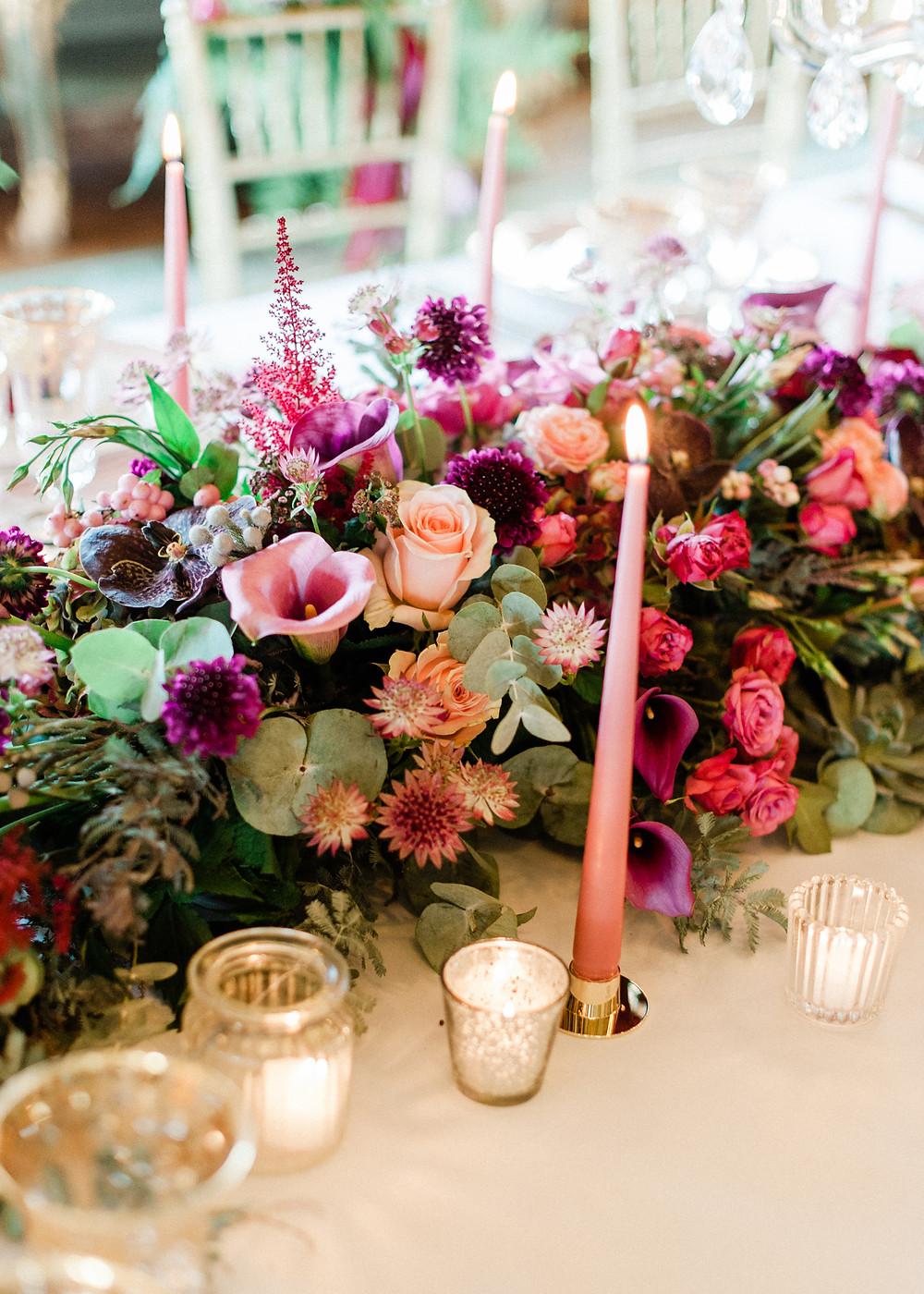 Cliveden House wedding, luxury wedding flowers
