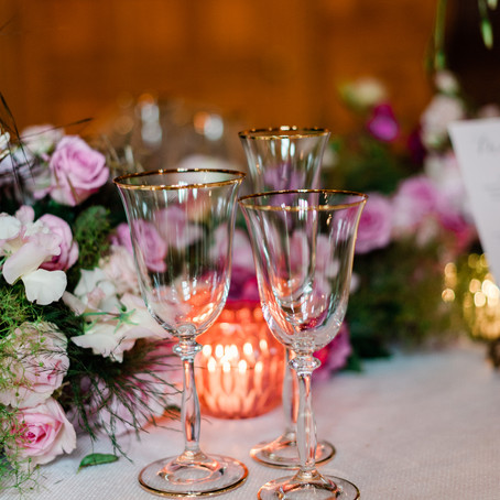 How to Style your Wedding Breakfast Tables