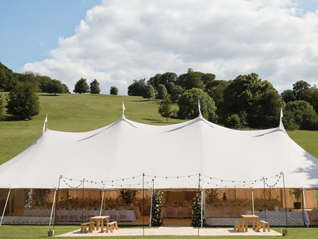 inspiration for styling your luxury wedding marquee