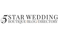 As seen in 5 Star Wedding Blog.png